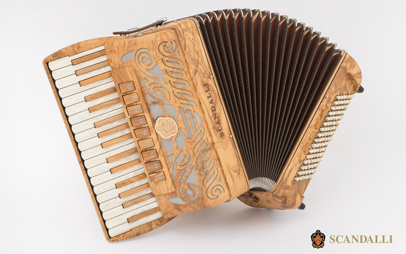 New accordion TIERRA