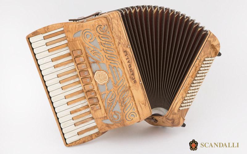 Nuova fisarmonica TIERRA